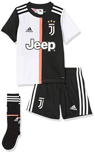 adidas Juventus Turin Mini Home Kids, Fußball-Trikot, Unisex, Kinder M Mehrfarbig (schwarz/weiß)