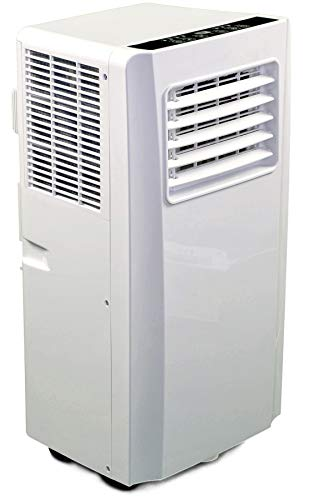 JUNG AIR TV05 mobiles Klimagerät mit Fernbedienung - TÜV geprüft - 3,2 KW/11000 BTU - STROMSPAREND,...