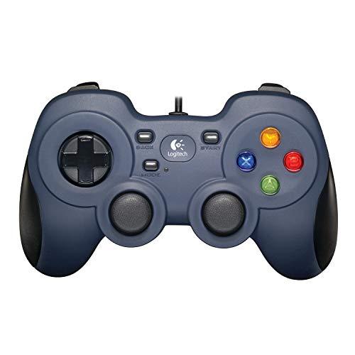 Logitech F310 kabelgebundenes Gamepad, Controller mit Konsolenartigem Layout, 4 Tasten D-Pad,...