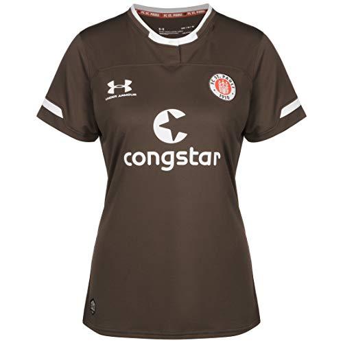 Under Armour FC St. Pauli Trikot Home 2019/2020 Damen braun/weiß, S