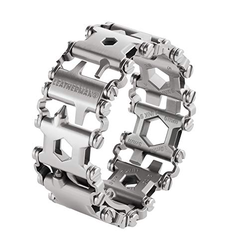 Leatherman Tread Metric - Heavy-duty multipurpose multi-tool bracelet with 29 tools including screwdrivers,...