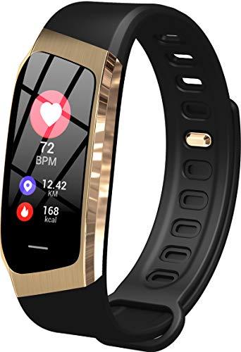 Findtime Unisex Fitness Tracker Digital Silikon Quarz Activitäts Armband Herzfrequenz Blutdruck Monitor...