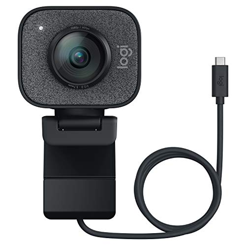 Logitech Streamcam Webcam für Live Streaming und Inhaltserstellung, Vertikales Video in Full HD 1080p bei 60...