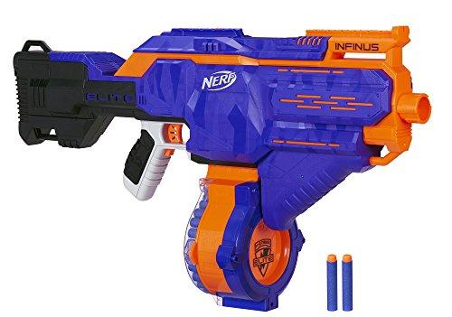 Hasbro Nerf E0438EU4 Nerf N-Strike Elite Infinus, voll-motorisierter Spielzeug-Blaster, mit...