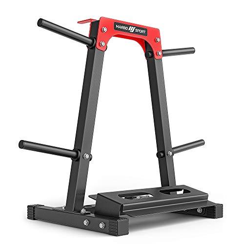 Marbo-Sport Multiständer für Gewichtsscheiben, Hanteln und Griffe MH-S207