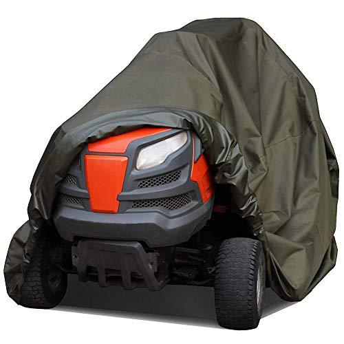MILECN Abdeckung für Aufsitzrasenmäher, wasserdichte Hochleistungs-Traktorabdeckungen für UV-Schutz,...