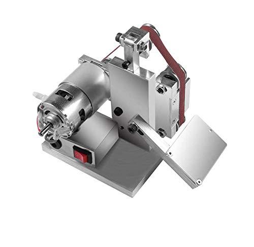 4500-9000RPM 7-fach verstellbarer DIY Poliermaschine Mini Bandschleifer Kantenschleifer...
