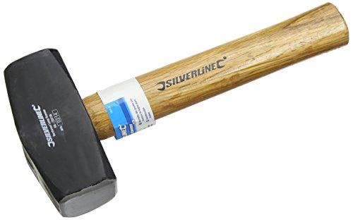 Silverline 783136 Fäustel mit Hartholzstiel 1,810 g