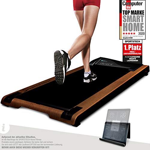 DESKFIT Laufband für Schreibtisch - fit & gesund im Büro & zu Hause   Bewegung & ergonomisches Arbeiten  ...