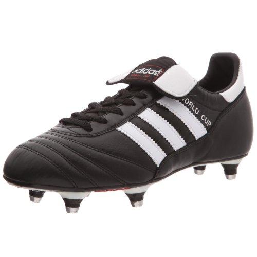 adidas Herren World Cup Fuballschuhe, Schwarz (Black/Running White Ftw), 42 2/3 EU