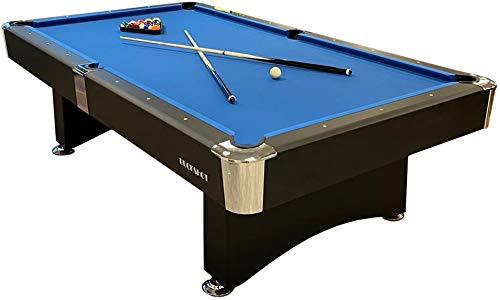 Buckshot Billardtisch 8ft Manhattan - 244x132x80 cm - 8 Fuß Pool Billard - Kugelrücklauf - Tischbillard mit...