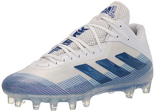 adidas Men's Freak Carbon Football Shoe, White/Team Royal Blue/Bright Royal, 14