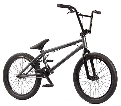 KHE BMX Fahrrad STRIKEDOWN PRO 20 Zoll Affix Rotor Stealth Grey nur 9,7kg