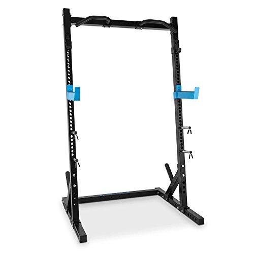 Capital Sports Racktor Half Rack - Squat Rack, Kniebeugenständer, Hantelstation, 2 x Safe Spotter: max. 720...