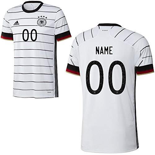 adidas Fuball DFB Deutschland Home Trikot Heimtrikot EM 2020 Herren Wunschname Gr XL