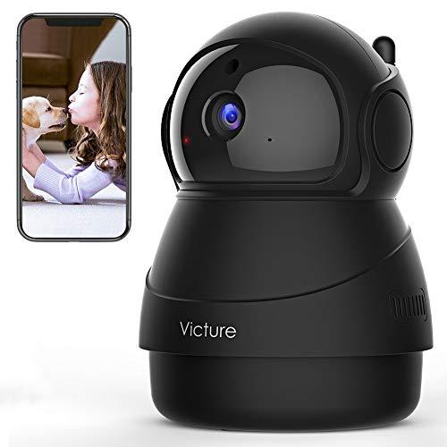 Victure 1080P FHD WLAN IP Kamera, Überwachungskamera mit Nachtsicht, Bewegungserkennung, Zwei-Wege-Audio,...