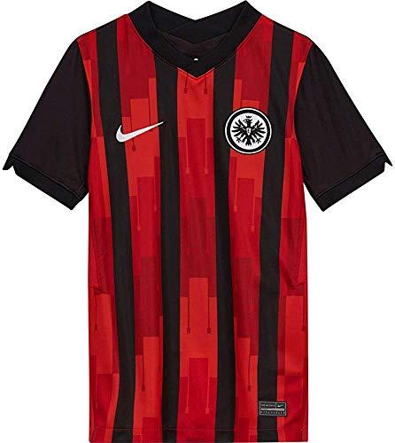 Nike Kinder SGE Y NK BRT STAD JSY SS HM T-Shirt, Black/(White) (pe Sponsor), L