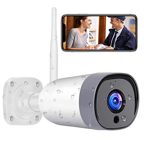Mibao WLAN IP Kamera Outdoor,Überwachungskamera 1080P HD WiFi Kamera für Aussen, IP66 wasserdichte mit...