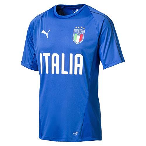 PUMA Herren Jersey FIGC Italia Training Jersey SS, Team Power Blue-Puma White, XXL, 752316 01