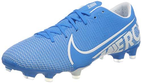 Nike Herren Vapor 13 Academy Fm/Gm Fußballschuhe, Mehrfarbig (Blue Hero/White/Obsidian 414), 44 EU
