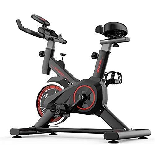 Heimtrainer Fahrrad, Fitnessbike für zuhause, Indoor Cycling Bike Fitnessbike Mit Herzfrequenzmonitor,...