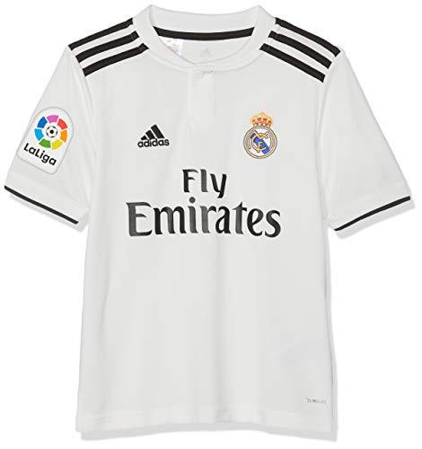 adidas Kinder 18/19 Real Madrid Home - Lfp Trikot, core White/Black, 176