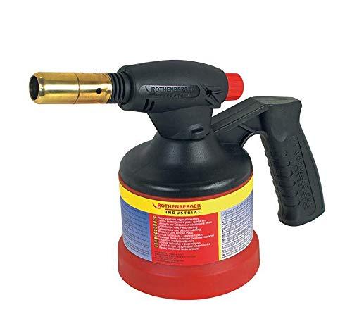 ROTHENBERGER Industrial RoFlame Lötlampe inkl. Elektr. Piezo-Zündung zum Weichlöten , 35931
