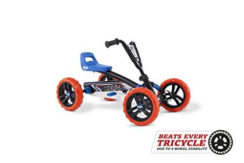 BERG Gokart Buzzy Nitro | Kinderfahrzeug, Tretauto, Sicherheid und Stabilität, Kinderspielzeug geeignet für...
