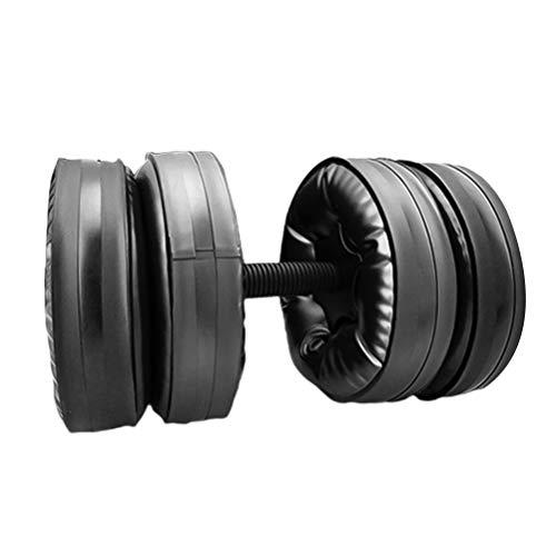 ABOOFAN Wassergefüllte Anti-Leck-Hanteln, verstellbar, für Bodybuilding, Trainingsgerät, Armmuskeln,...