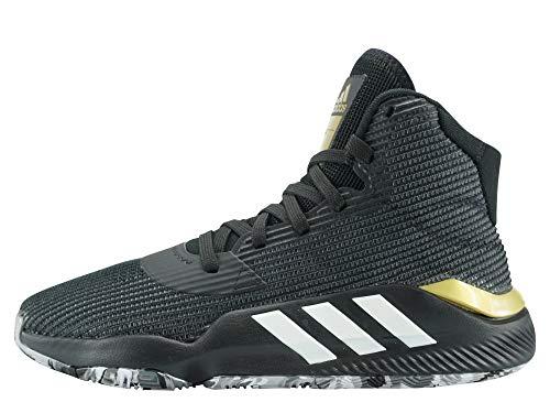 adidas Herren Pro Bounce 2019 Basketballschuhe, Mehrfarbig (Negbás/Ftwbla/Gricua 000), 42 EU