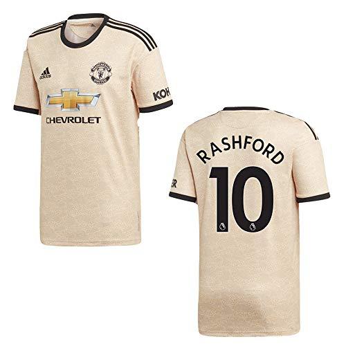 adidas Manchester United Trikot Away Kinder 2020 - RASHFORD 10, Größe:164