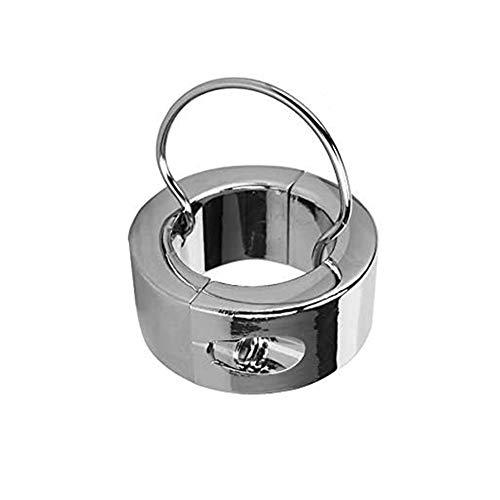 ZWFUN Extra Schwer Ball-stretcher CBT Edelstahl Hodenring - Hodengewicht - Ball Stretcher Ring mit Schlüssel...