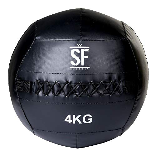 Suprfit Wall Ball - Medizinball fr Cross Training und Functional Training, Gewichtsball mit griffiger...