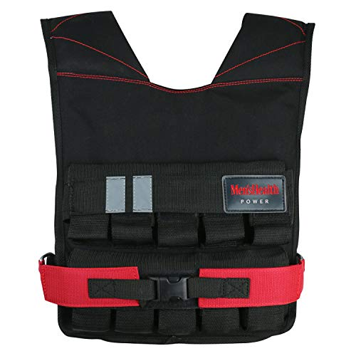 MEN'S HEALTH POWER Gewichtsweste (Weight Vest) | Für Gewicht Training, Krafttraining Übungen (20)