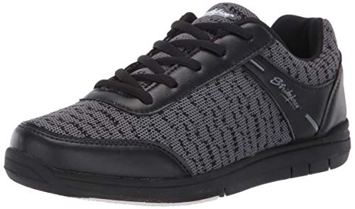 KR Herren Mens Bowling Shoes Black/Steel Strikeforce Flyer Mesh Bowlingschuhe Stahl, Schwarz/Stahlfarben, Size...