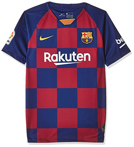 Nike Kinder FCB Breathe Stadium Heim Trikot Teamtrikot, Deep Royal Blue/Varsity Maize, M