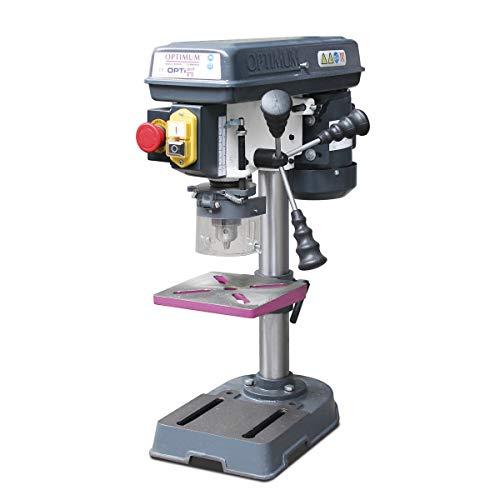OPTIMUM Tischbohrmaschine OPTIdrill B13 Basic (mit Bohrtisch neigbar, Bohrtischenanschlag, Drehzahlbereich...