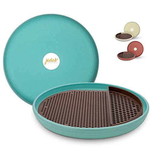 JoDaK | Vogeltränke und Insektentränke, leicht zu reinigen, stehend, Kunststoff, Wildvogeltränke, Vogelbad,...