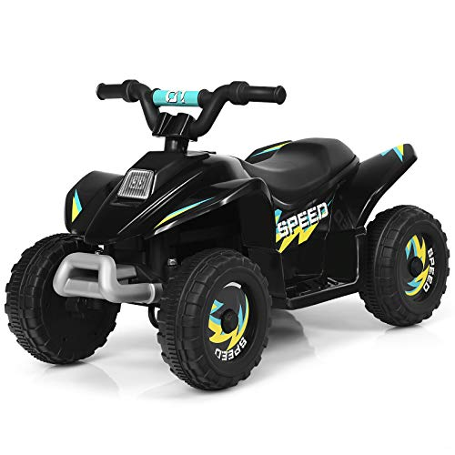 COSTWAY 6V Elektro Kinderquad 2,8-4,6 km/h, Mini Elektroquad, Kinderauto, Kindermotorrad, Kinder Quad,...