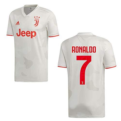 adidas Juventus Turin Trikot Away Kinder 2020 - Ronaldo 7, Größe:152