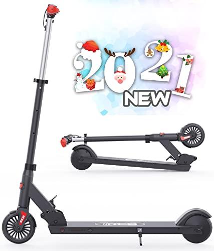 HOVERMAX Elektro Scooter für Kinder, Faltbarer und Verstellbarer Elektroroller, Höchstgeschwindigkeit 20 km...