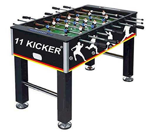 Izzy Tischkicker Kickertisch Profi Kicker 45kg Tischfußball für Kinder und Erwachsene