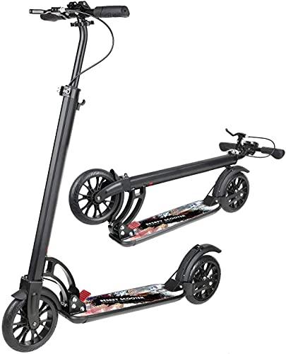 besrey Scooter Erwachsene Kickscooter Tretroller Big Wheel Scooter 200mm ab 8 Jahre für Jugendliche und...