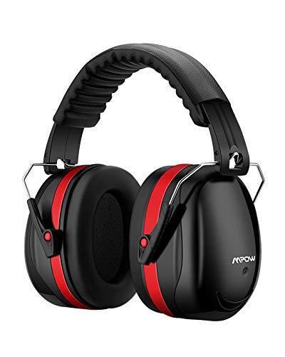 Mpow MPHP056BR Gehörschutz Kind, Rot, 1 Stück