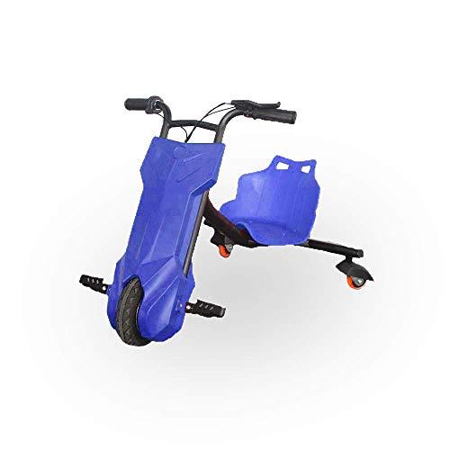 BEEPER- Drift-Trike Elektrisches Kart für Kinder, Blau, 100 W, 12 V, 6, 5 Ah RDT100-B 75 x 52 x 60 cm
