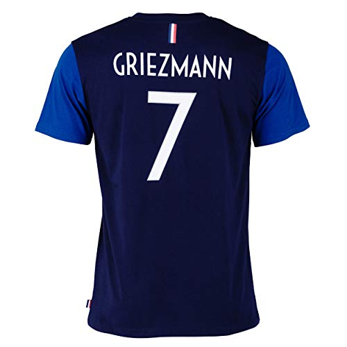 FFF T-Shirt –Antoine Griezmann –offizielle Kollektion der französischen Fußballnationalmannschaft...