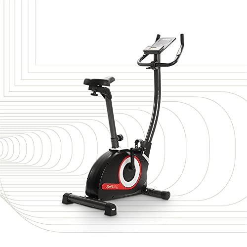 SportPlus SP-HT-9510-iE Heimtrainer Fahrrad Ergometer Heimtrainer für Zuhause 9KG Schwungmasse   Indoor...