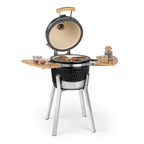 Klarstein Princesize Pro Kamado - Grill Keramikgrill Smoker BBQ, Durchmesser: 13' (33 cm),...