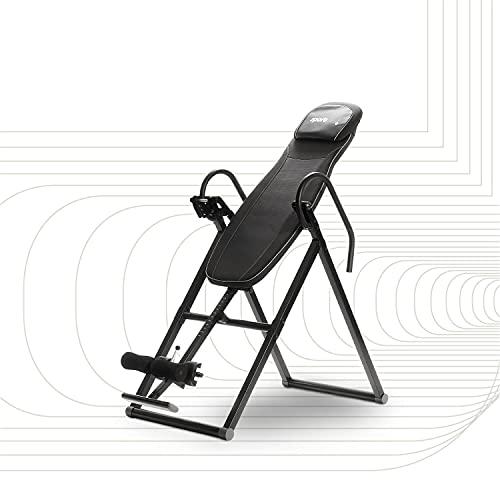 SportPlus Inversionsbank, klappbarer Schwerkrafttrainer, Inversion Table mit 6 Inversionswinkel, Streckbank...