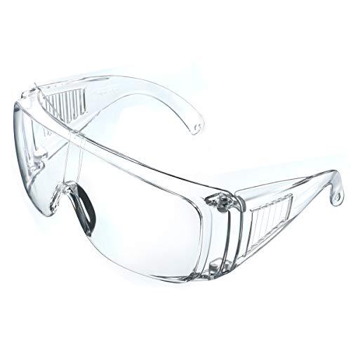 NASUM Schutzbrille faltbare Schutzbrille für brillenträger, hohe Schlagfestigkeit für Baustellen,...